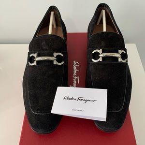 Salvatore Ferragamo Men's Benford Suede Loafers